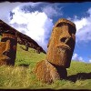 Cabezas de la isla de pascua