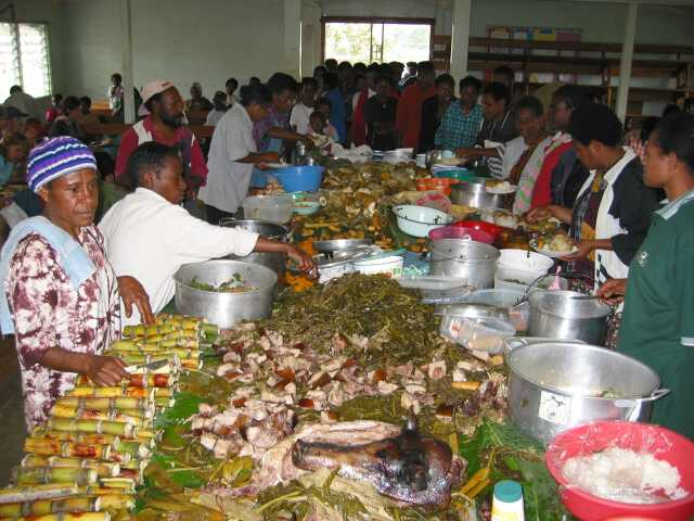 Gastronomia Papua Nueva Guinea