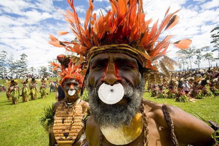 Tribus Papua Nueva Guinea