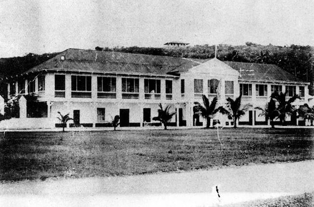 La Casa del Gobernador en la época colonial de Guam
