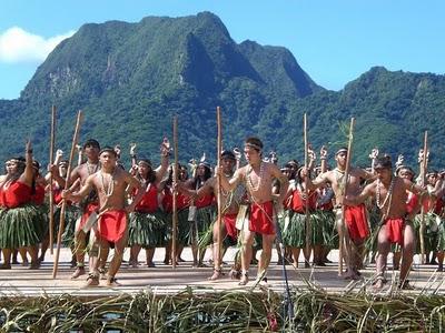 Chamorros en la isla de Guam