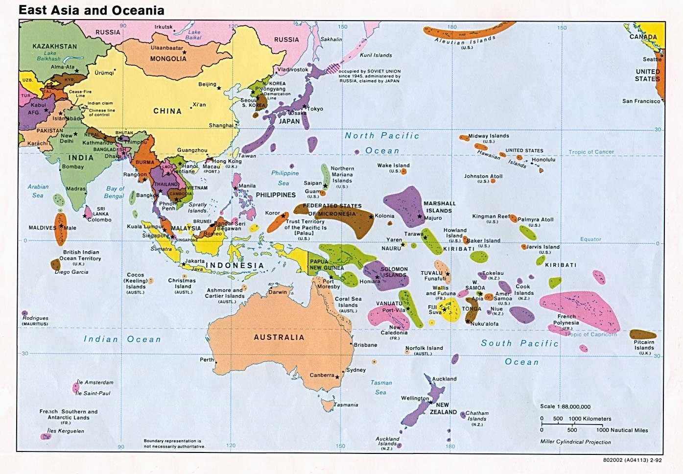Resultado de imagen para aUSTRALIA Y aSIA DEL eSTE