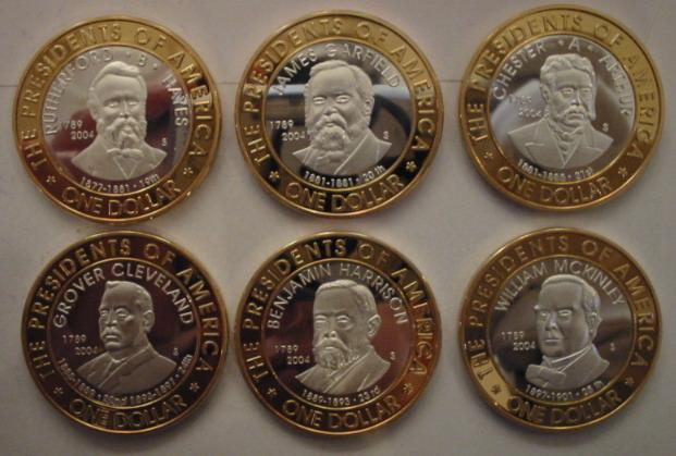 Antiguas monedas de Micronesia