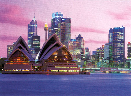 Ciudad de Sidney, capital de Australia