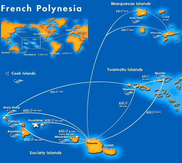 polinesia francesa ubicacion